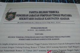 Pemkab Asahan Lakukan Pelelangan Jabatan Sekretaris Daerah