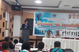 Kominfo buka workshop foto jurnalistik PWI Asahan