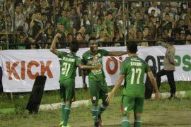PSMS Medan kalahkan Arema fc 2-0
