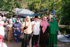 Warga ingin balas budi kepada Calon Wali Kota Isnandar