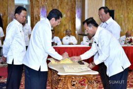 47 organisasi perangkat daerah sumut sepakati kinerja