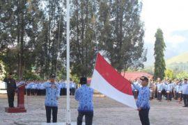 Bupati Samosir pimpin upacara Hari Kesadaran Nasional