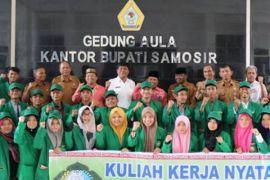 Mahasiswa UIN Sumut ramadhan di Samosir