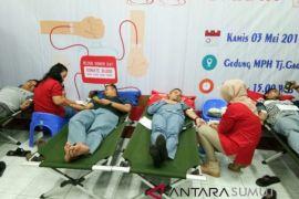 Peringati Hari Buruh, PUK SPSI PT Inalum Gelar Donor Darah
