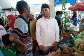 Rusydi akan sulap Pasar Ramadhan Padangsidimpuan
