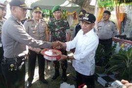 Wabup Asahan tinjau pos pelayanan dan pengamanan Idul Fitri 1439 H