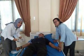 Donor darah ASN Tebing Tinggi