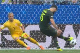 Penalti Australia tahan imbang Denmark 1-1