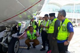 DPD tinjau kesiapan angkutan di Bandara Kualanamu