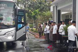 Bupati Asahan Berangkatkan Jemaah Haji Gelombang ke 2