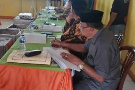 KPU rekapitulasi suara Pilgub - Pilwal Padangsidimpuan