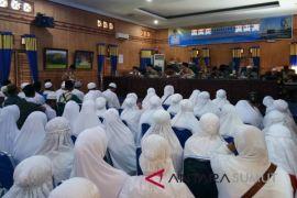 Pemkab Batubara Gelar Menasik Haji 246 Calhaj
