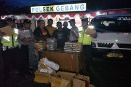 Polisi Langkat ringkus pembawa 26 bal ganja
