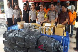 Polres Langkat amankan 40 orang tersangka narkotika