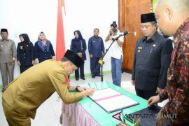 48 pejabat Pemkot Padangsidimpuan dilantik
