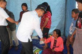 Pemkab Samosir bantu korban kebakaran