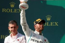 Hamilton menangi GP Hungaria