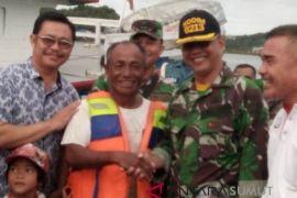 Nelayan yang hilang di Nias Selatan ditemukan selamat