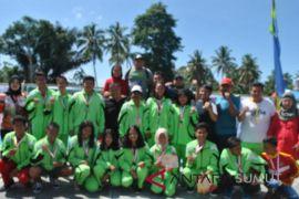 Medan sementara pimpin perolehan medali renang Popdasu