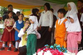 Kadis PPPA Sumut 'uji' kemampuan anak