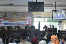 Wali kota dengarkan pidato kenegaraan Presiden RI