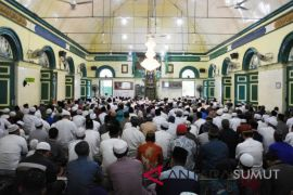 Shalat Idul Adha di Masjid Sultan