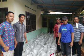 Warga Desa Subur Terima Benih Ikan Dari Dinas Perikanan Asahan