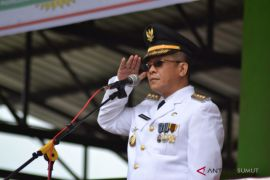 Pj Walikota Padangsidimpuan irup HUT RI ke 73