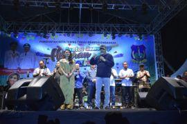Hiburan rakyat Hut Kota Tebing Tinggi meriah