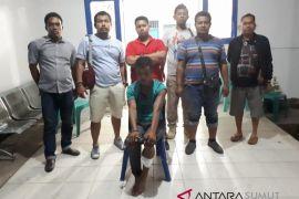 Tersangka pembunuh karyawan PT Alam berhasil ditangkap