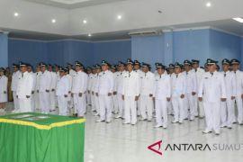 46 kepala desa di kabupaten Nias dilantik