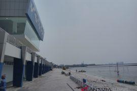 Pembangunan arena jeski dan layar Asian Games rampung