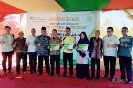 DPR RI Sosialisasikan Jaminan Sosial Ketenagakerjaan Warga Asahan
