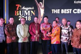 PT Inalum raih dua penghargaan di Anugerah BUMN 2018