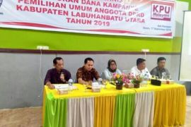 KPU Labura lakukan bimtek dana kampanye