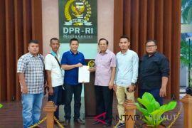 Aktivis Tanjungbalai di senayan perjuangkan nelayan