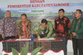 Pemkab dan Jasa Tirta sepakati hijaukan Samosir