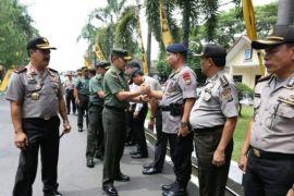 Kapolda: sinergitas TNI- POLRI terus ditingkatkan