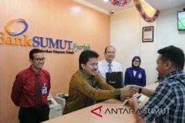 Bank Sumut beri hadiah untuk nasabah