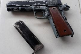 Polisi amankan satu unit senjata api
