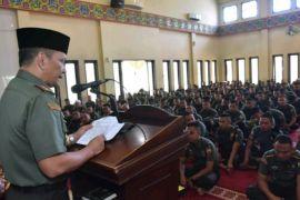 Pangdam : tahun baru Islam hikmah kehidupan prajurit