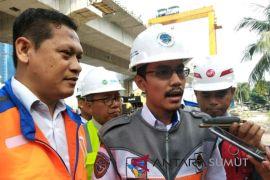 Rel layang KAI Sumut rampung 2018