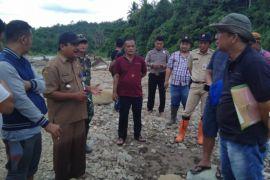 BKPRD  tinjau lokasi penambangan di Sungai Idanogawo