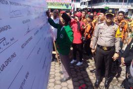 Polres Padangsidimpuan gelar pasukan pengamanan pemilu 2019