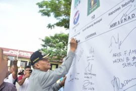 Walikota hadiri deklarasi damai Pileg dan Pilpres