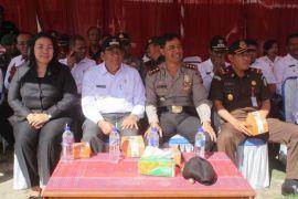 Bupati Samosir di apel pasukan kepolisian
