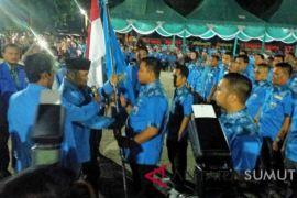 Hendriyanto dilantik jadi Ketua KNPI Labura