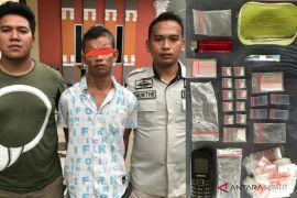 Polisi ciduk pria pengedar sabu