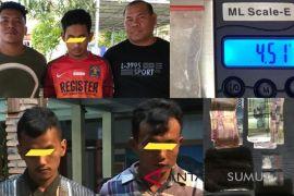 Polisi amankan tiga pria pemilik sabu