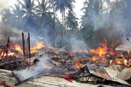 Empat rumah di Tanjungbalai terbakar